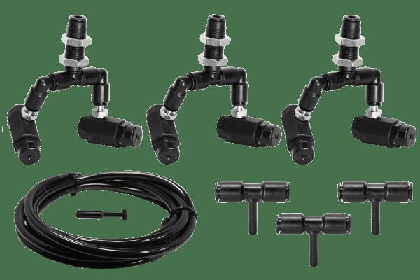 Doppeldüsen Erweiterungsset Black-Line - 3 Doppeldüsen