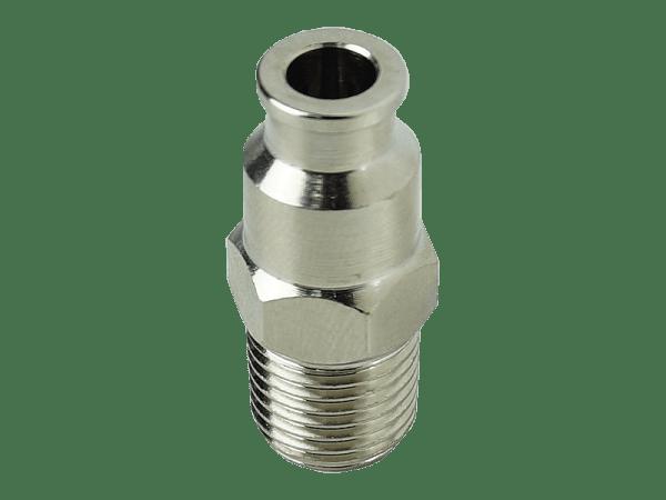 Einschraubverbinder Hochdruck gerade 1/4 Zoll NPT - 1/4 Zoll Schlauch