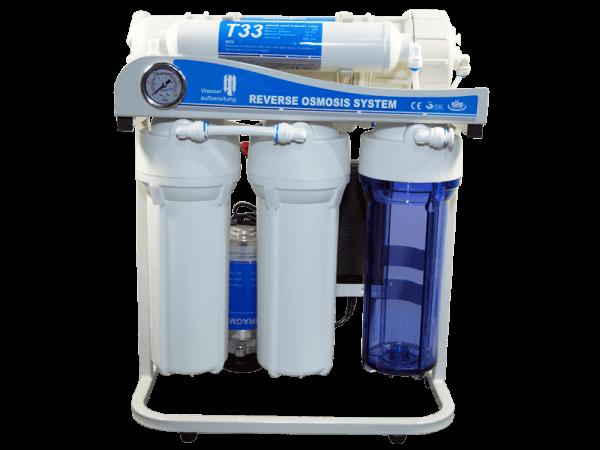 Osmoseanlage 5 Stufen 1200 Liter pro Tag inkl. Druckerhöhungspumpe