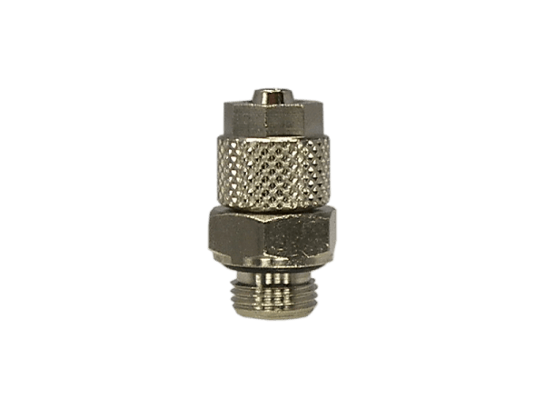 Gerade Einschraubverschraubung mit Überwurfmutter 3/8 Zoll - 10/8mm
