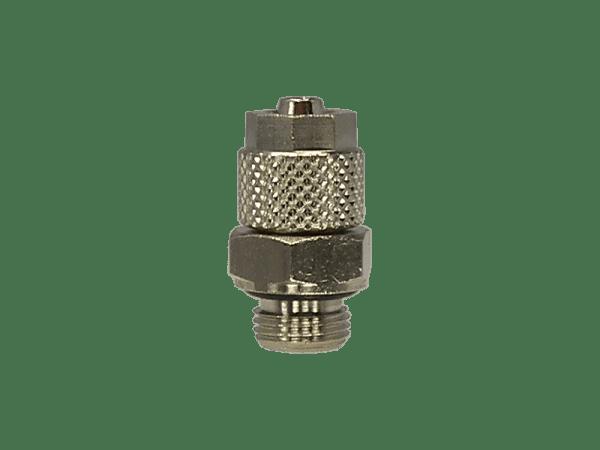 Gerade Einschraubverschraubung mit Überwurfmutter 1/4 Zoll - 6/4mm