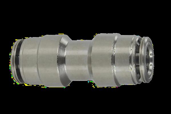 Gerader Schlauchverbinder Hochdruck 1/4 Zoll - 6,35 mm