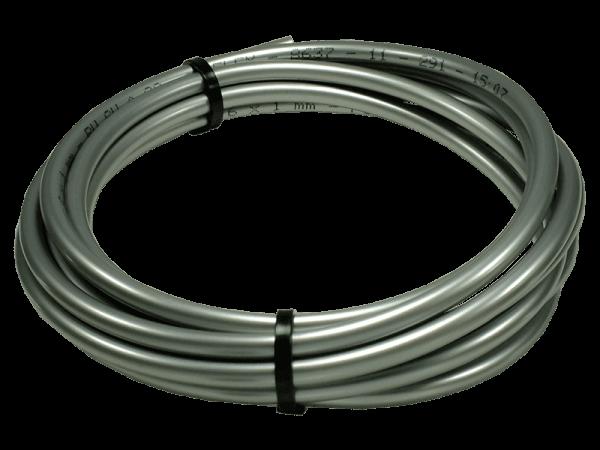 Druckschlauch Beregnungsanlage PU 17 bar silber 4/2,5 mm