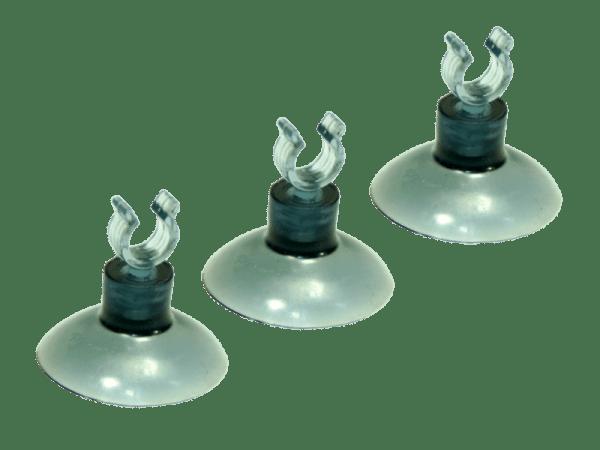 Sauger - Saugnapf 3er Set für 6mm Schlauch