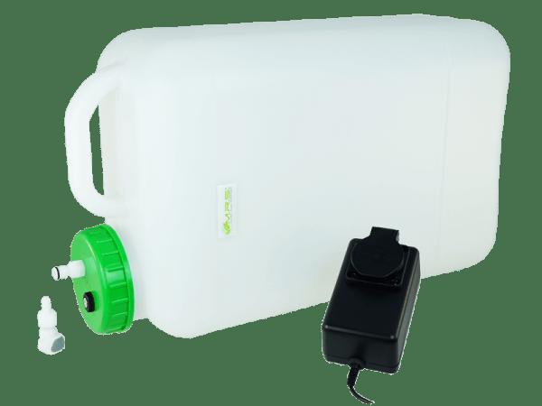 Wassertank 20 Liter mit Trockenlaufschutz, Rapid Quick-S u. Filter