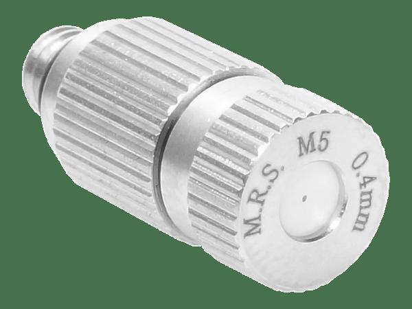 M.R.S. Anti-Tropf Keramik Nebeldüse Düsenkopf Bohrung 0,4 mm