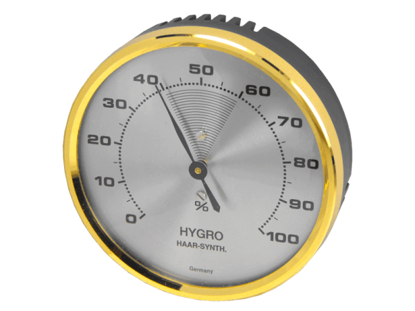 Hygrometer mit Haar - Synthetik 70 mm