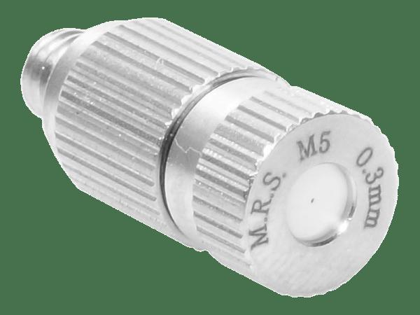 M.R.S. Anti-Tropf Keramik Nebeldüse Düsenkopf Bohrung 0,3 mm