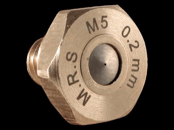 M.R.S. Micro Nebeldüse Düsenkopf Bohrung 0,2 mm