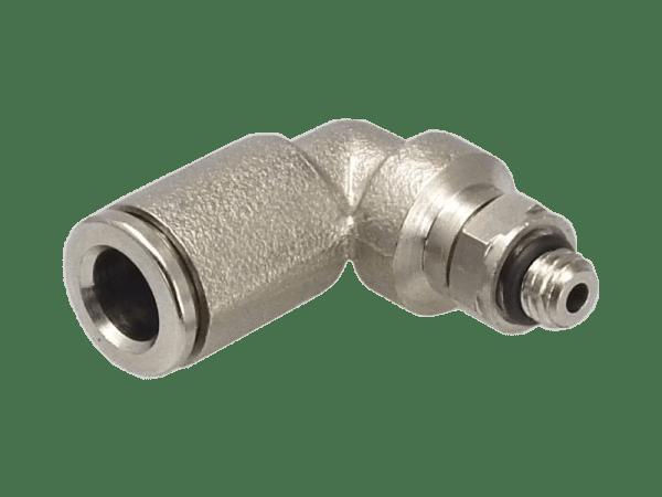 Winkel-Einschraubverschraubung Metall M5 - 4mm