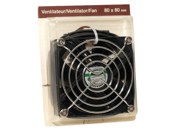 Ventilator Ersatzlüfter für Klimaregler Terra by TechnoKiss 80x80x25