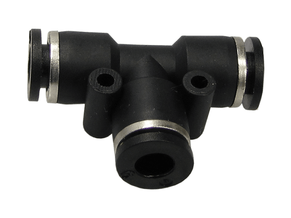 T-Verbinder Schnellsteckverbinder reduziert 8 - 6 mm
