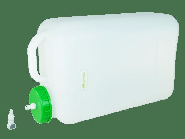Wassertank - Weithals 20 Liter und Rapid Quick-S Anschluss