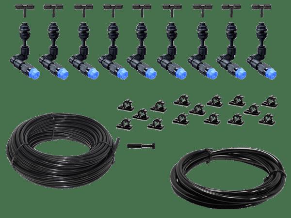 Bausatz Beregnungsanlage Easy-Line mit 9 KS - 360° Düsen