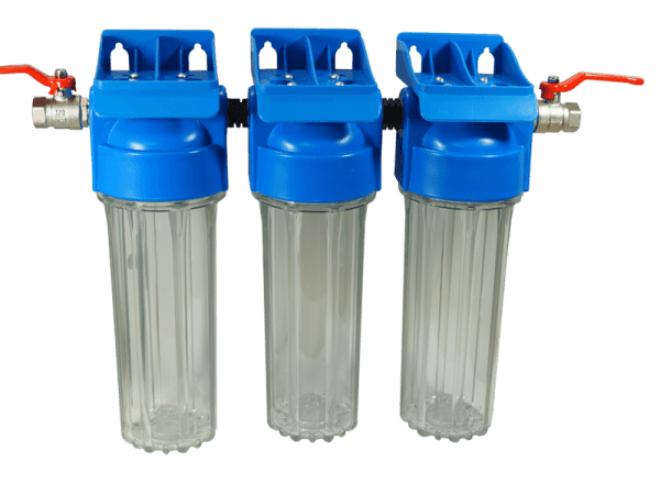 Wasserfilteranlage MC3 - 3 fach Wasserfilter