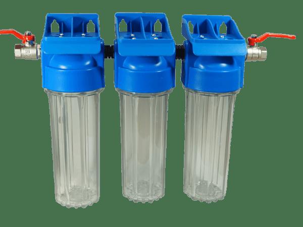 Wasserfilteranlage CB3 - 3 fach Filter zur Wasseraufbereitung