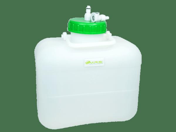 Wassertank 10 Liter mit Rapid Quick-S Anschluss und Filtersystem