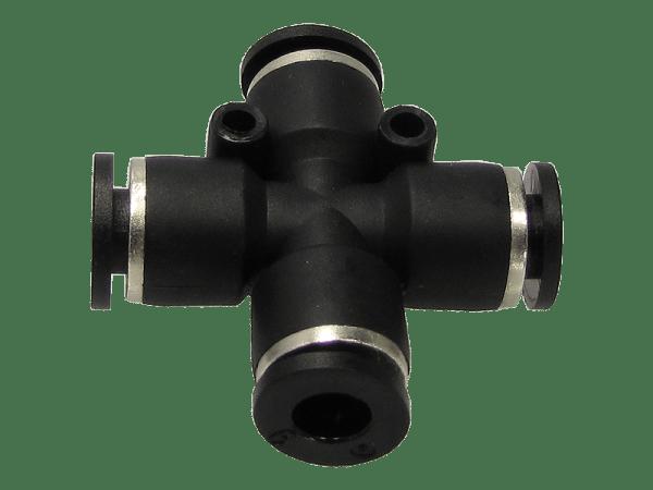 Kreuzverbinder - Schnellsteckverbinder 6 mm
