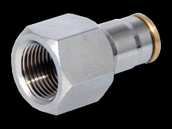 Aufschraubverbinder Hochdruck 3/8 Zoll IG - 3/8 Zoll Schlauch