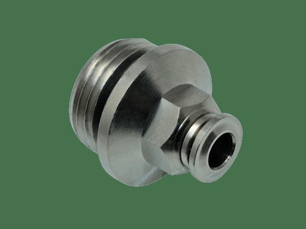 Einschraub-Steckverbinder Metall 1/2 Zoll