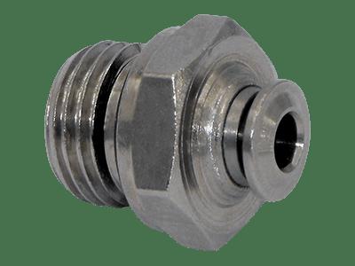 Einschraub-Steckverbinder Metall 1/4 Zoll