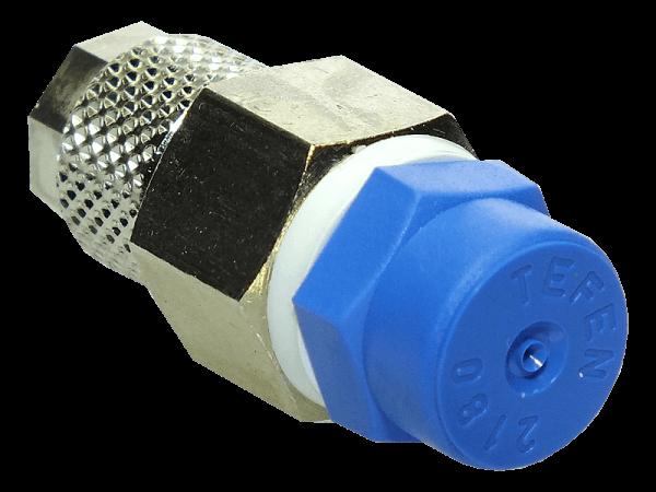M.R.S. Sprühregendüse mit Schnellverschraubung 6/4mm