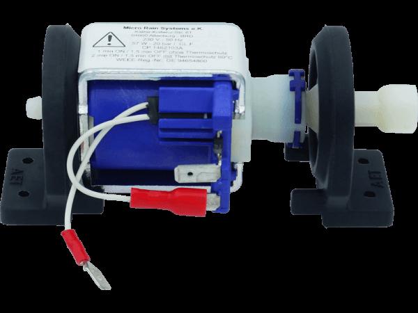 Druckpumpe LCP Mini mit Pumpenhalter, Thermoschutz u. Anschluss