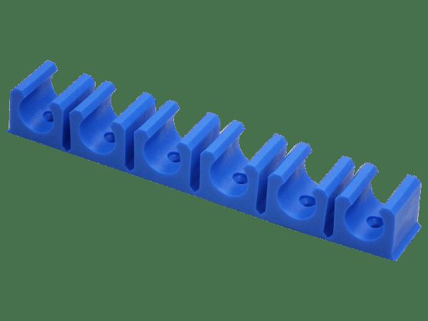 Schlauchklemmleiste Druckschlauch 6 fach