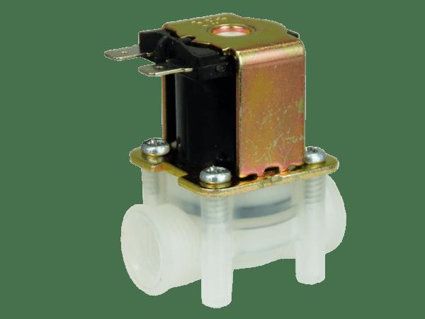 Magnetventil 24V stromlos geschlossen - Kunststoff G 1/4 Zoll
