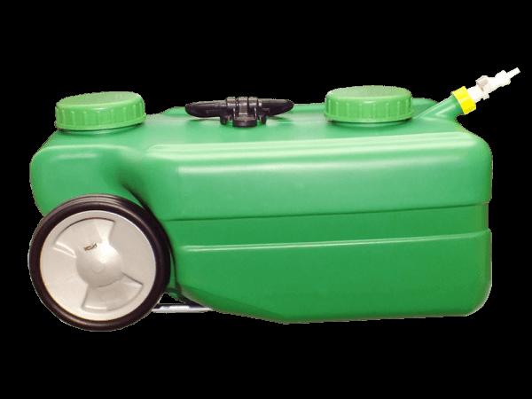 Mobiler Wassertank 25 Liter mit Rapid Quick-S Anschluss