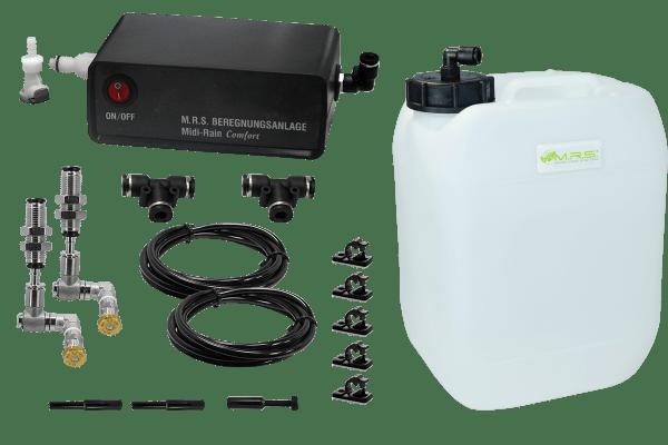 Beregnungsanlage Midi-Rain Comfort mit 2 Micro Nebeldüsen