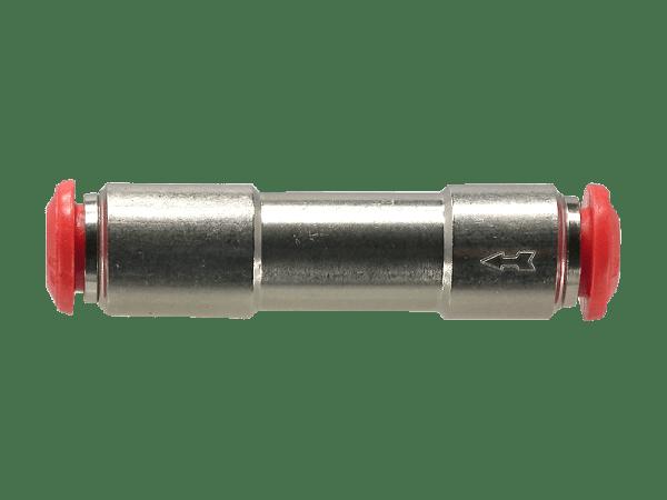 Rückschlagventil mit 4 mm Steckanschluss