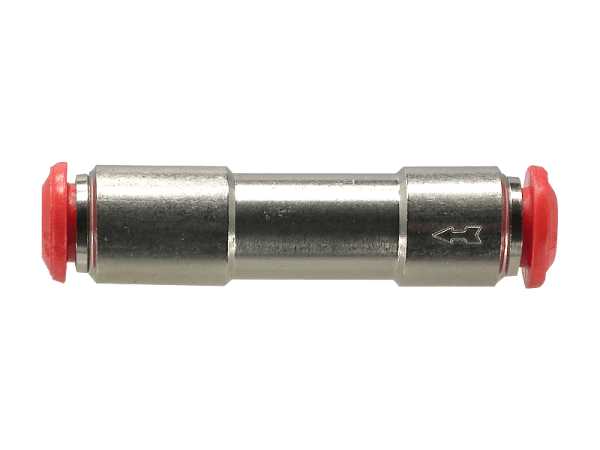 Rückschlagventil mit 8 mm Steckanschluss