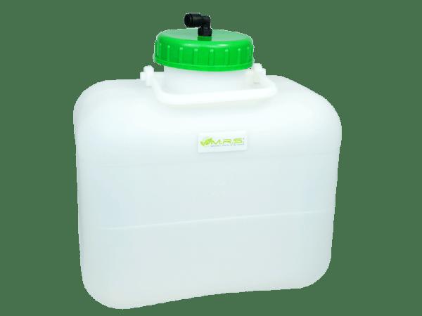 Wassertank 10 Liter mit integriertem Auslaufstutzen