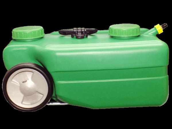 Mobiler Wassertank 25 Liter mit Auslaufstutzen