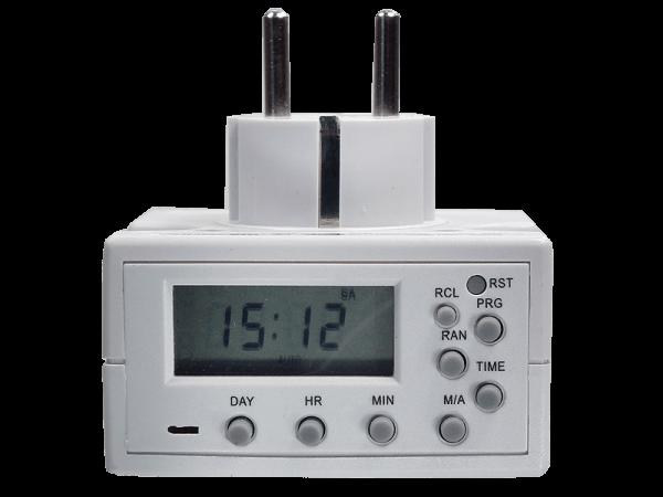 Digitale Zeitschaltuhr DSU Compact 7 Tage, 3500W