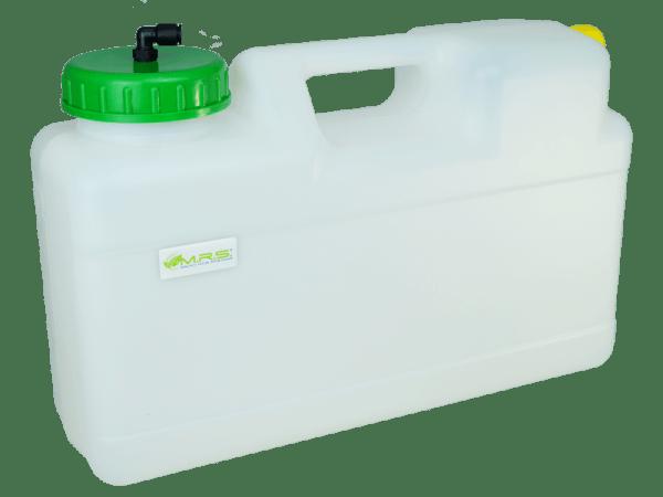 Wassertank 12 Liter Raumspartank mit Auslaufstutzen