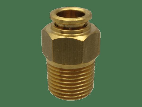 Steckverschraubung Hochdruck 3/8'' NPT - 8 mm