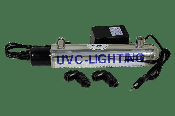 UVC Klärer 6 Watt - Edelstahl