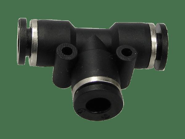 T-Verbinder Schnellsteckverbinder reduziert 6 - 4 mm
