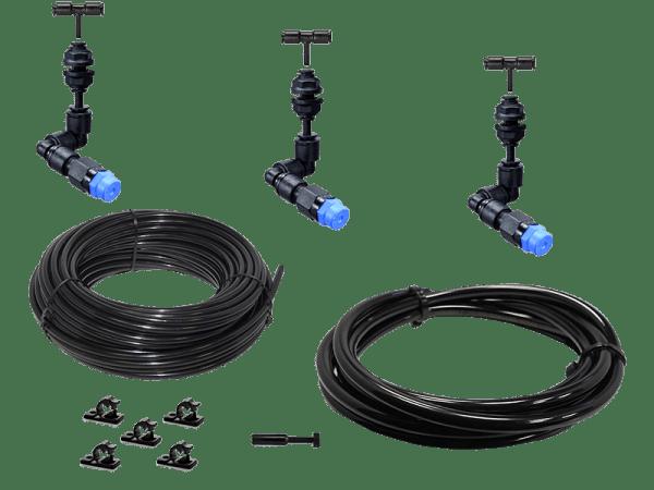 Bausatz Beregnungsanlage Easy-Line mit 3 KS - 360° Düsen