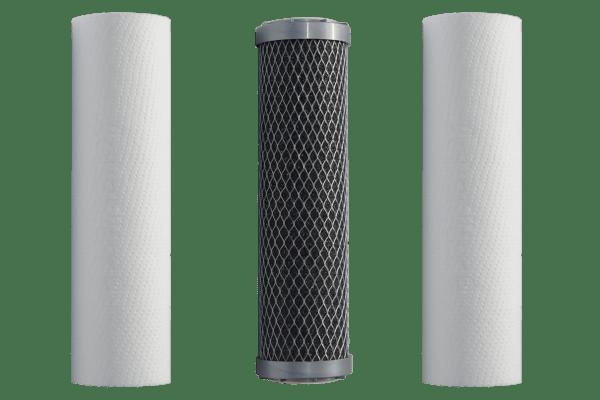 Ersatz-Filterset / Filterkerzen 10 Zoll für Osmoseanlagen
