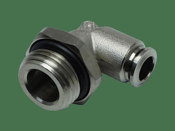 Winkel-Einschraubverschraubung Metall - 1/2 Zoll