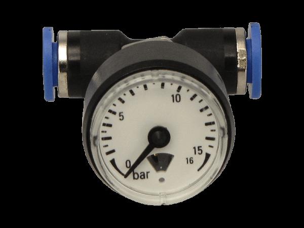 Druckmanometer - Druckmesser 0 - 16 bar für Beregnungsanlagen