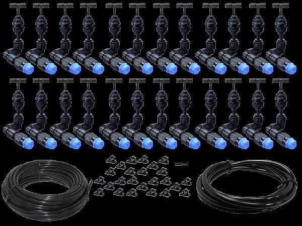 Bausatz Beregnungsanlage Easy-Line mit 24 KS - 360° Düsen