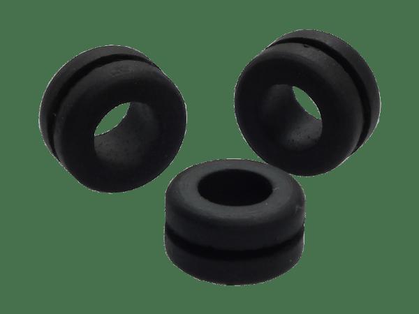 Gummitülle 3er Set - 10 mm
