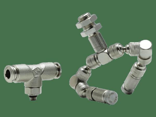 Duo-Nebeldüse QUANTIC© mit Schottverbinder