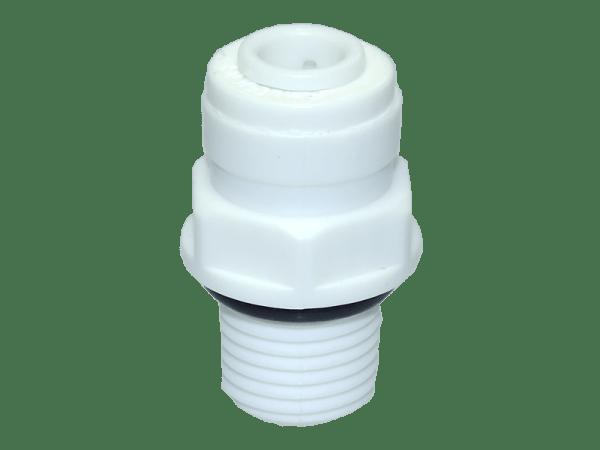 Einschraubverbinder 3/8 Zoll Aussengewinde 1/4 Zoll Schlauchanschluss