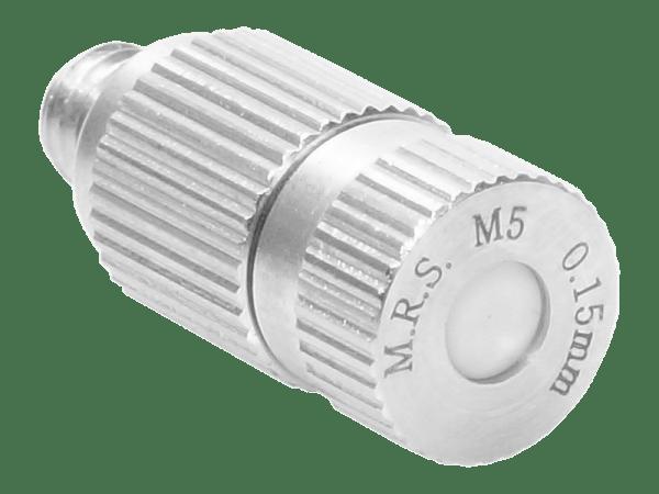 M.R.S. Anti-Tropf Keramik Nebeldüse Düsenkopf Bohrung 0,15 mm