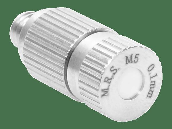 M.R.S. Anti-Tropf Keramik Nebeldüse Düsenkopf Bohrung 0,10 mm